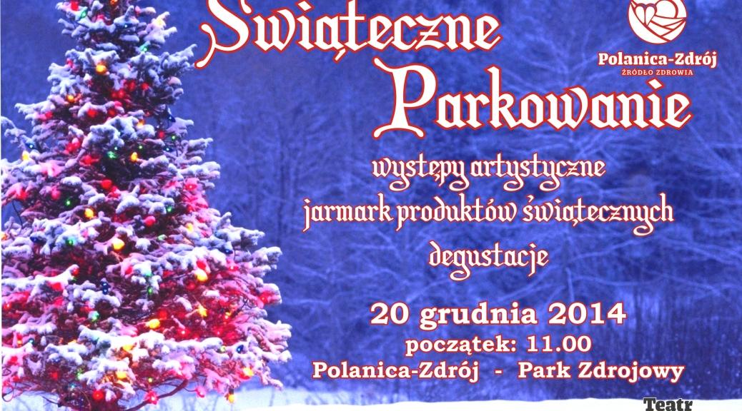 swiateczne_parkowanie, źródło Oficjalna strona Polanicy Zdroju